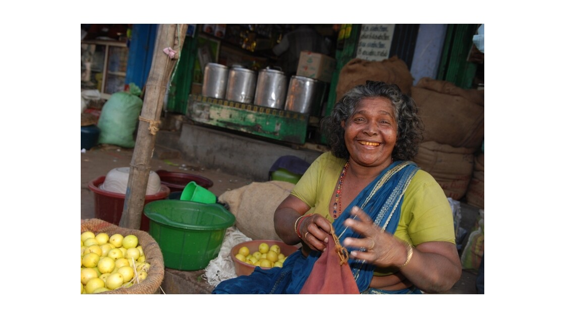 Vendeuse de citrons