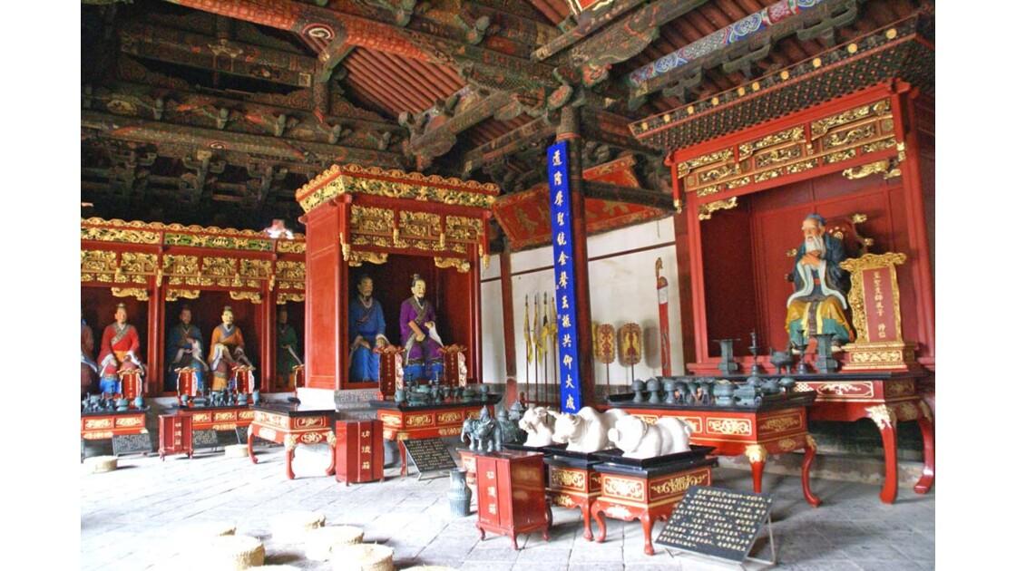 Jianshui, temple de Confucius, XIIIème