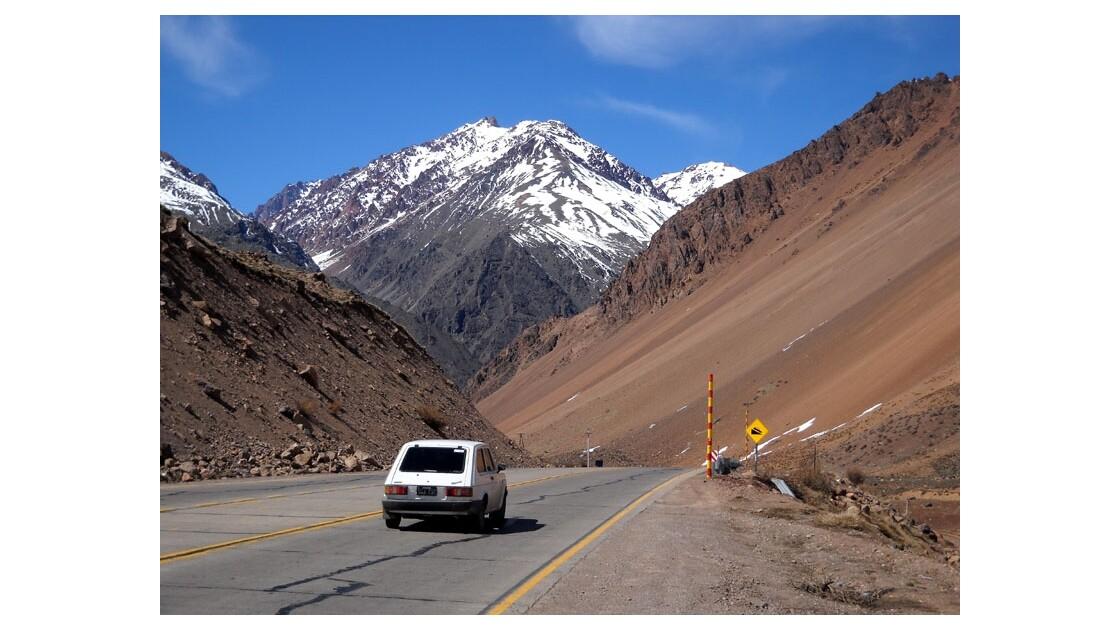 La route des Andes