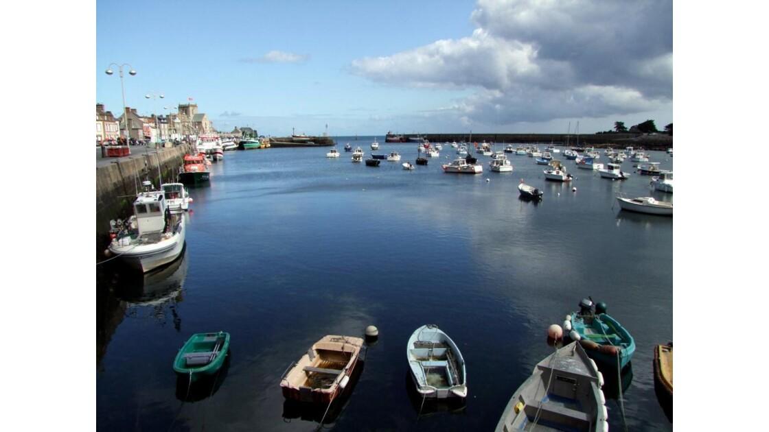 Cotentin nord-est Barfleur Port