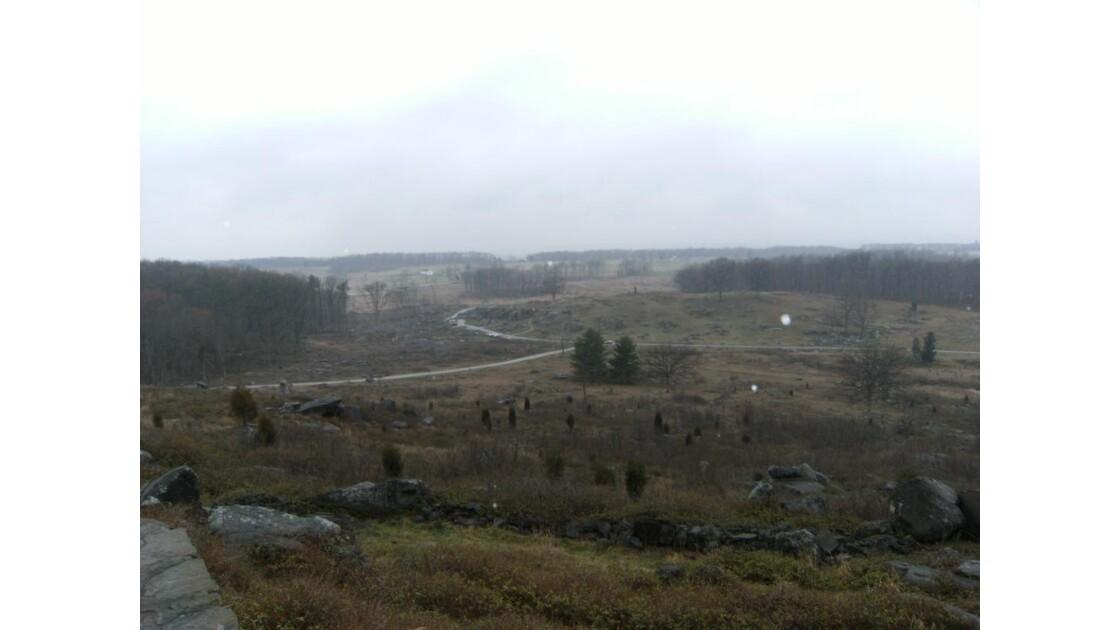 Champ de bataille Gettysburg