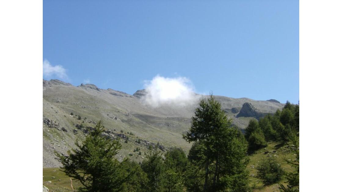 les alpes nuage du crachet