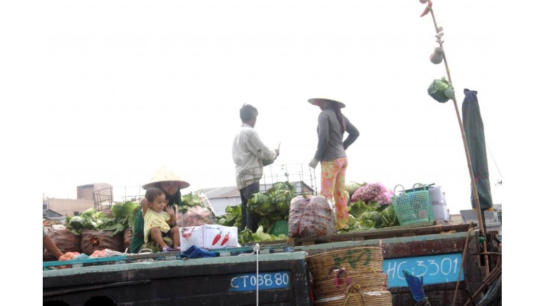 MEKONG-CAI RANG - Marché Flottant