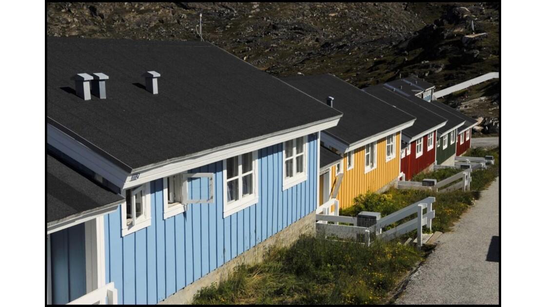 Qaqortoq maisons