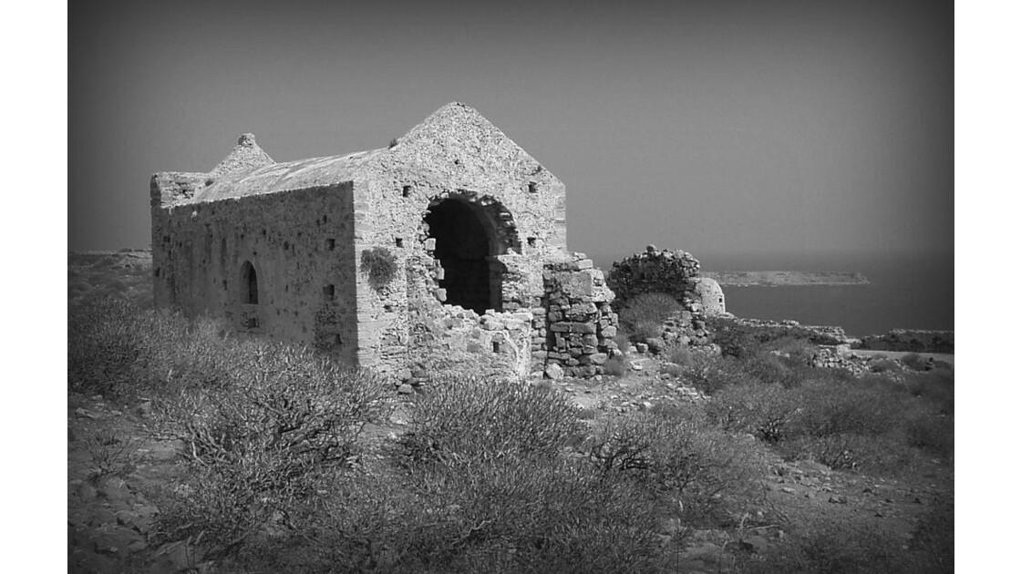 ruines à Gramvoussa