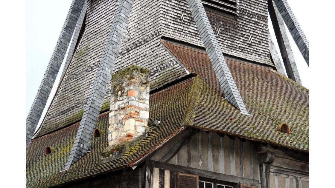 Détail clocher Ste Catherine