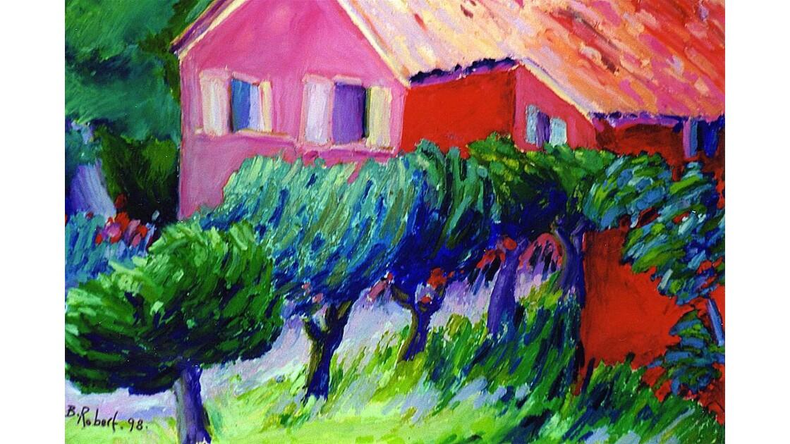 Maison dans le Luberon