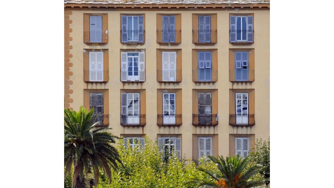 Fenêtres de Bastia