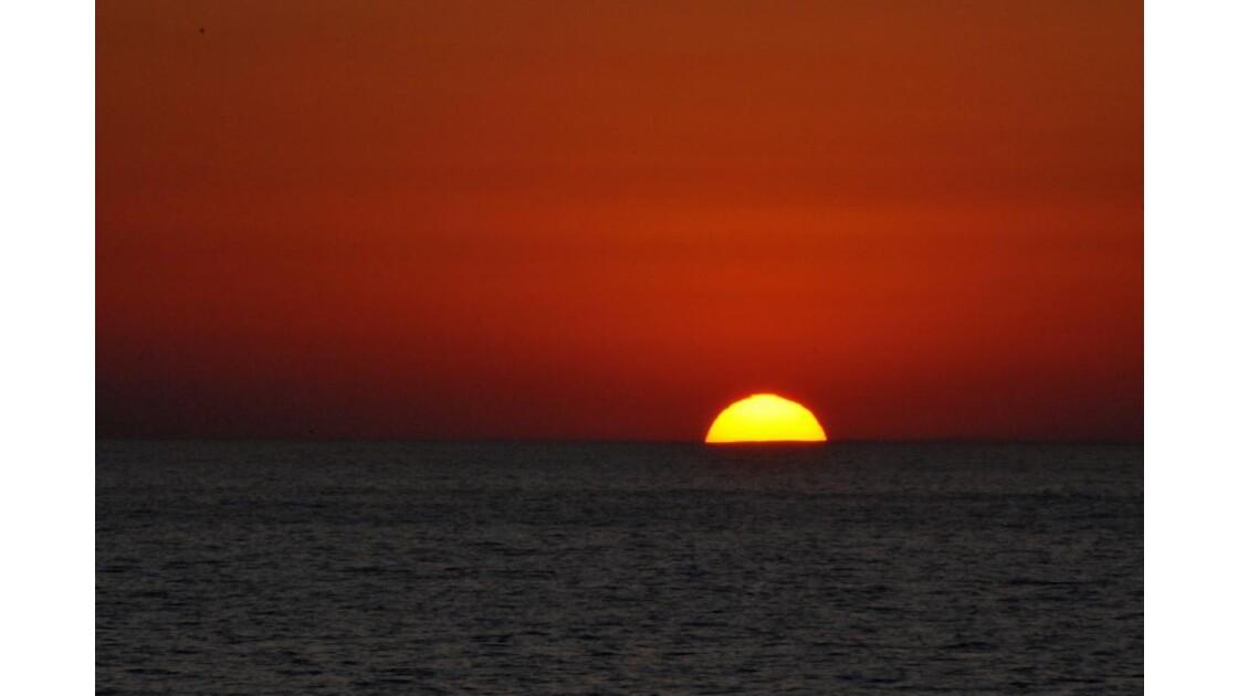 Crépuscule de mer