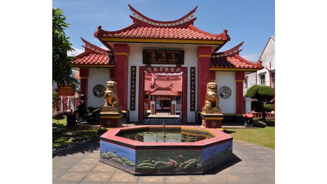 Temple chinois Bali