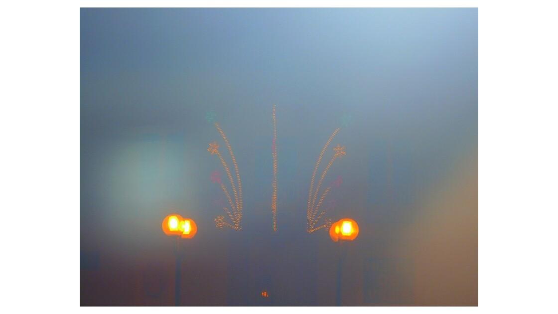 Dans le brouillard!