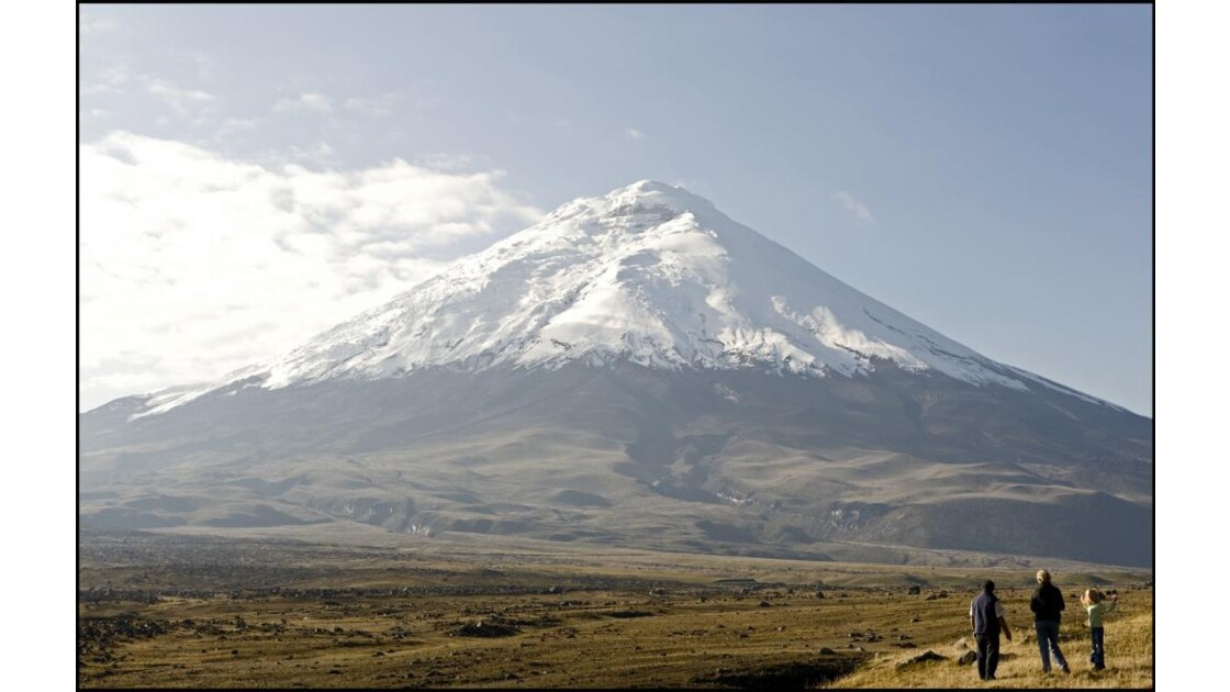 Cotopaxi, volcan de 5897 m