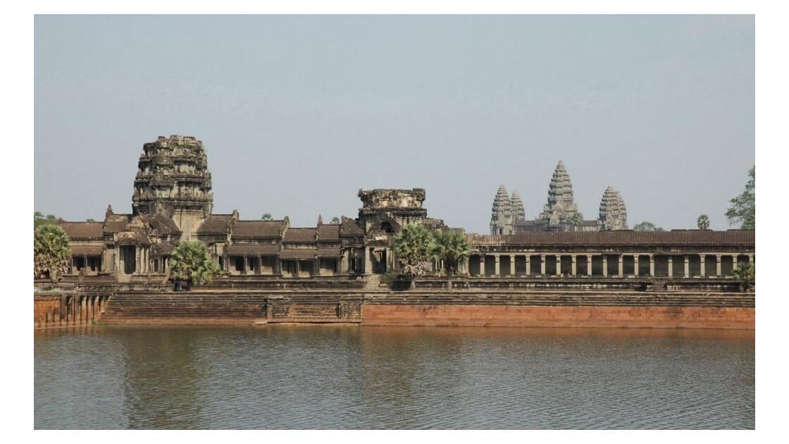 Angkor Vat, gopura ouest de la ville