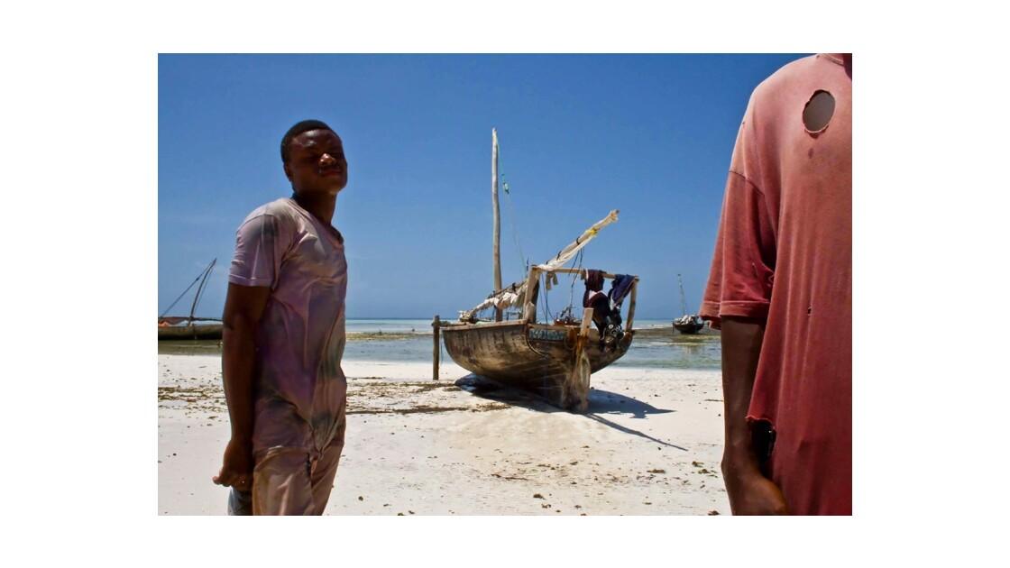 pécheurs à Zanzibar