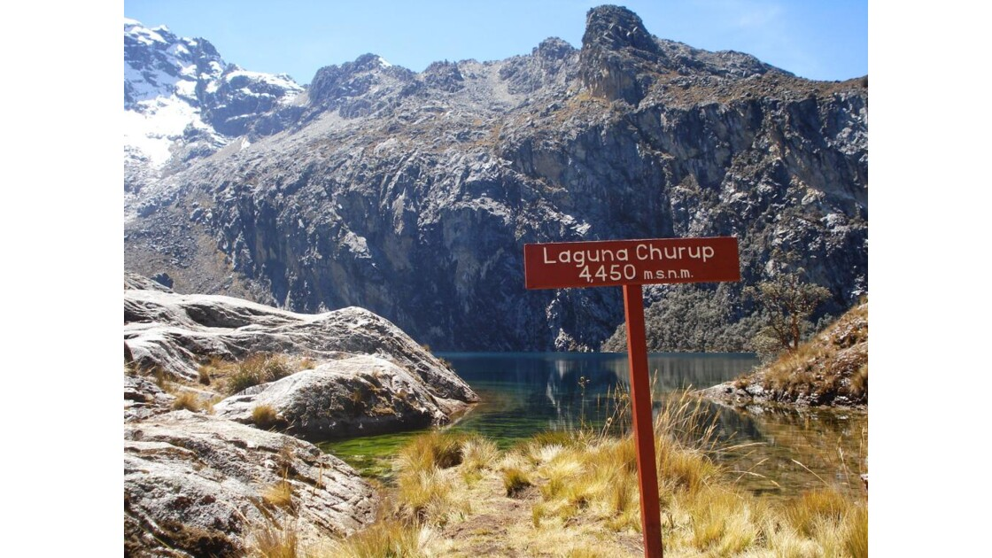 Laguna Churup, Pérou