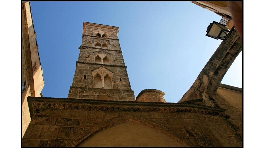 Bonifacio: le clocher.