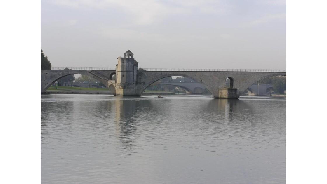 Pont St Benezet aval