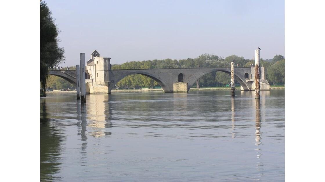 Pont St Benezet amont