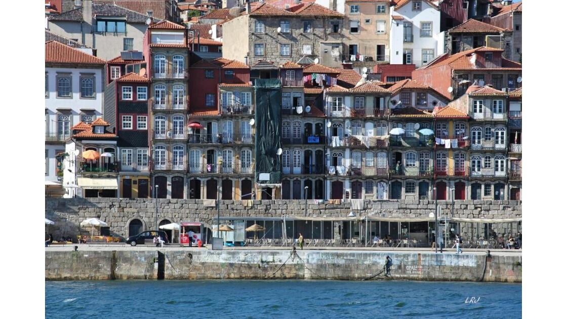 Porto, vu du Douro.