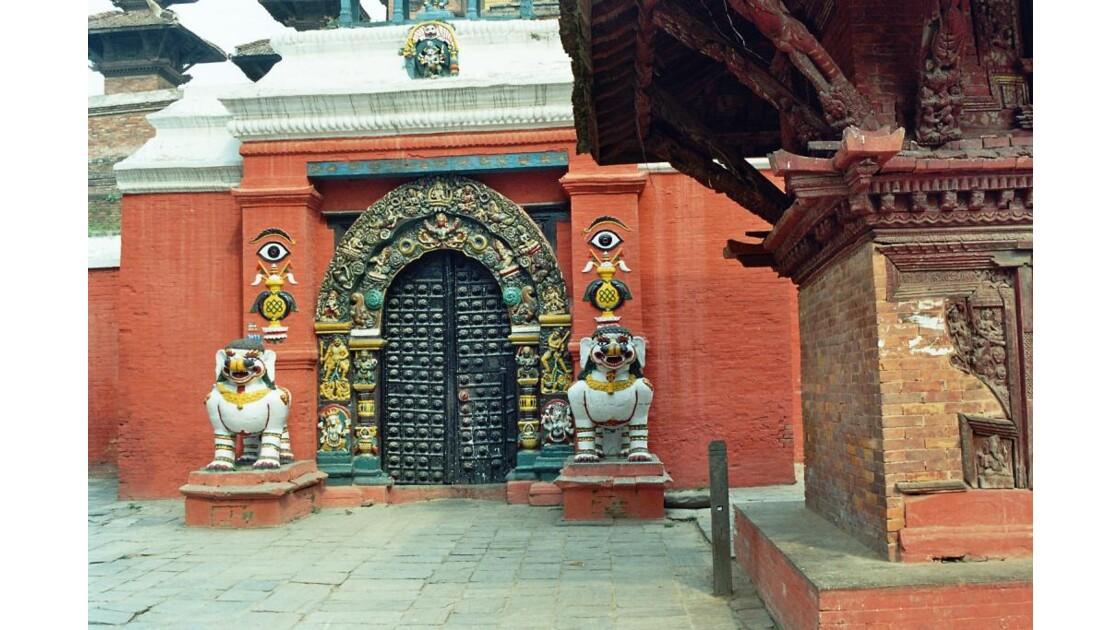 entrée du palais à Durbar Square