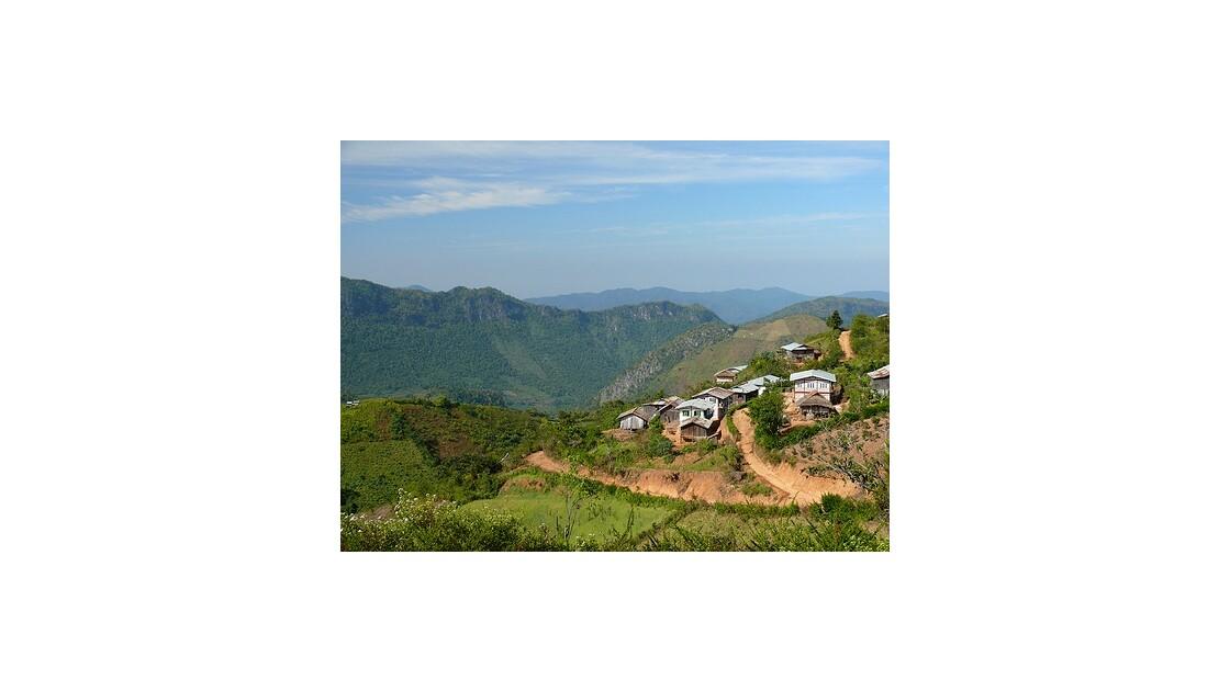 Montagnes Shan - Birmanie - Myanmar