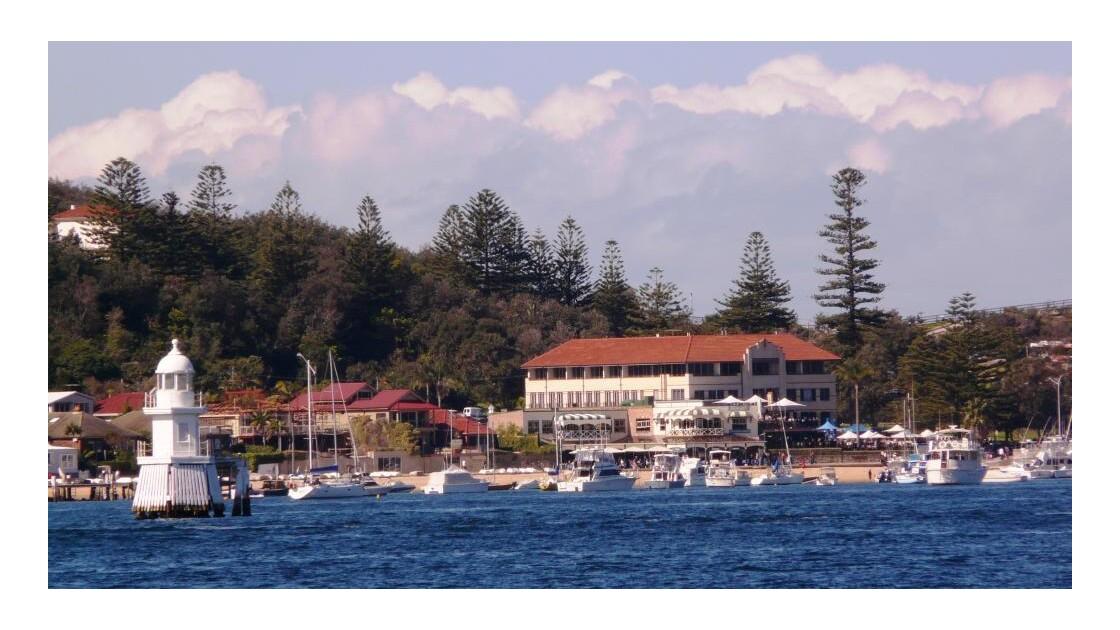 Port de plaisance entre Sydney et Manly