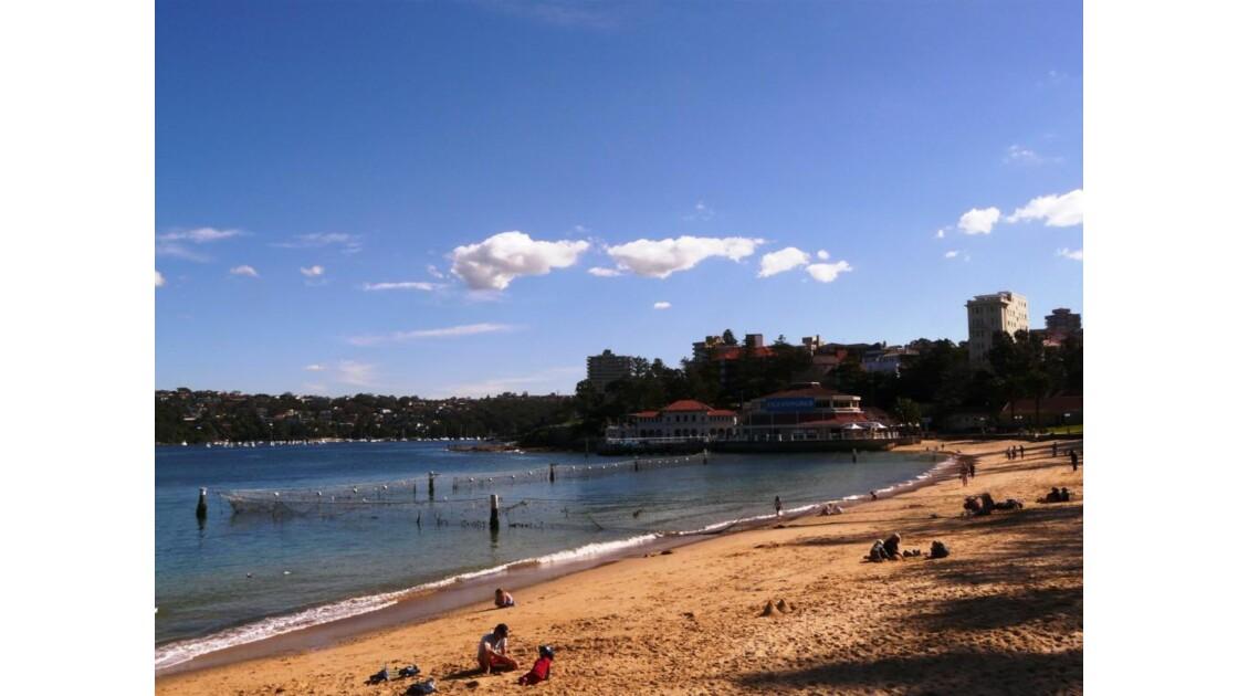 Manly beach, côté Sydney