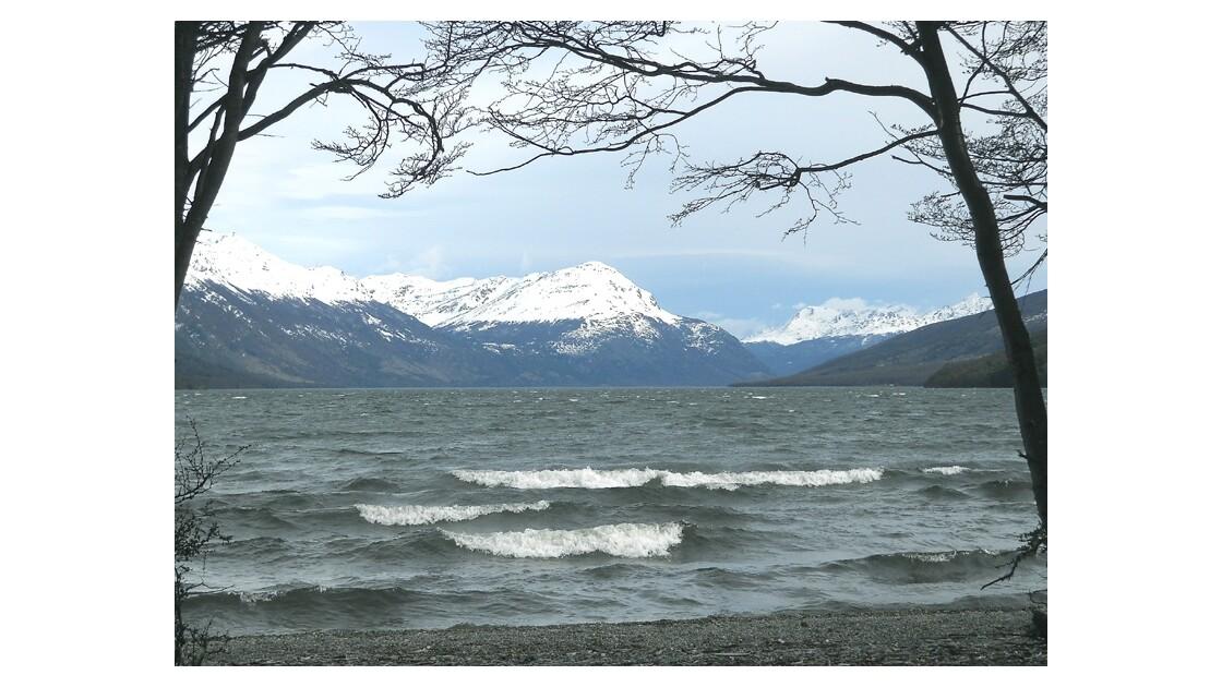 Le Lago Roca, en Terre de Feu