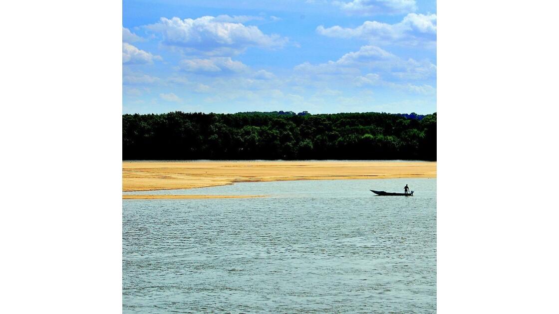 Sur la Loire ...