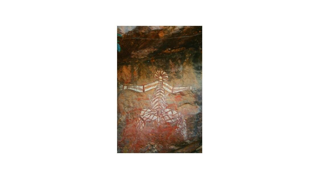 Peinture rupestre de Kakadu
