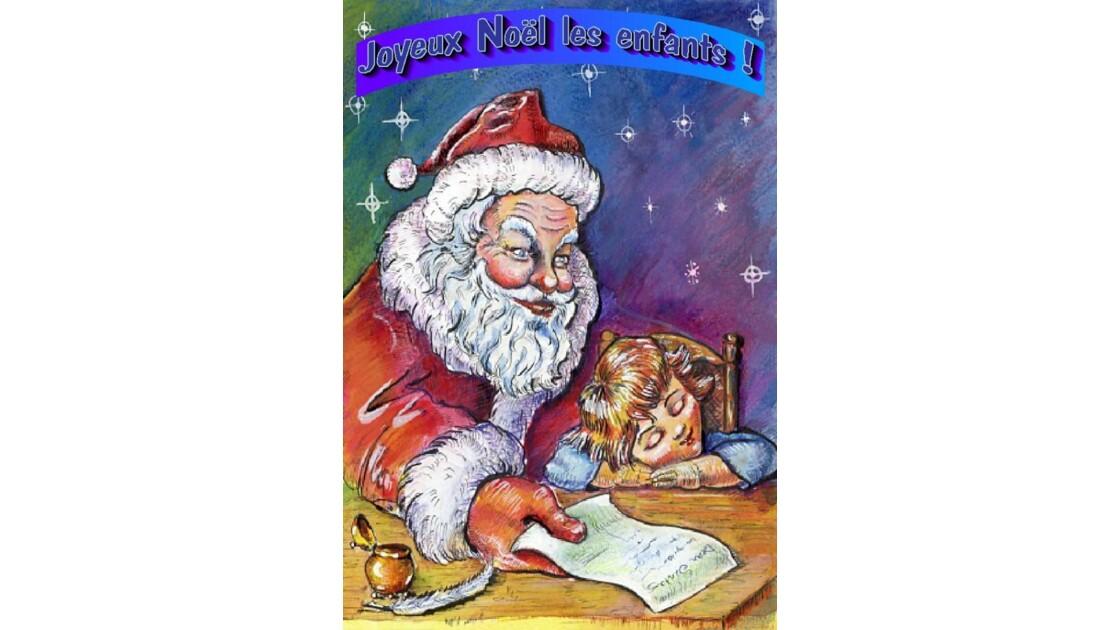 Père Noël..image et chanson...