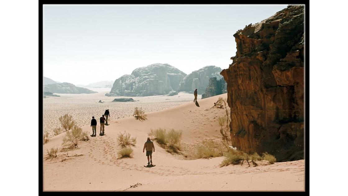 Wadi Rum au mitan