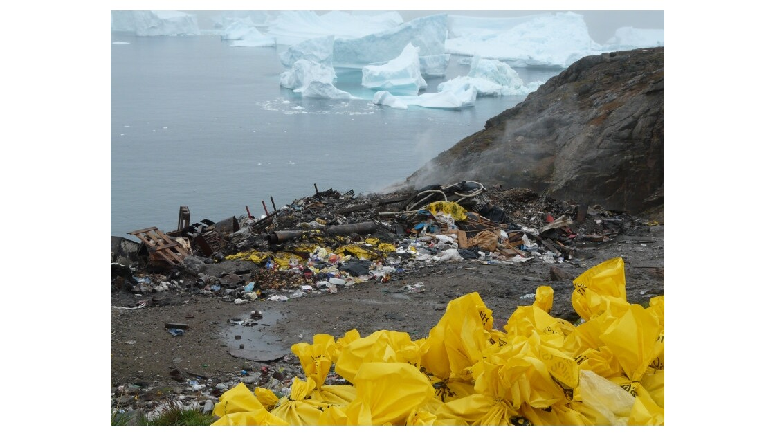 pollution dans le Grand Nord
