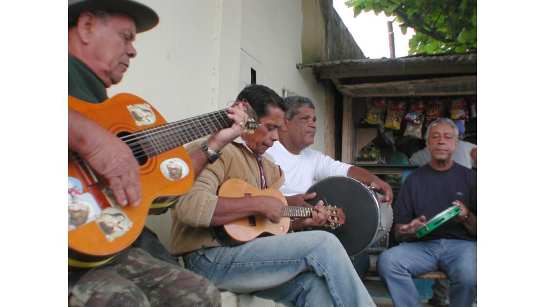 Paraty musiciens de rue