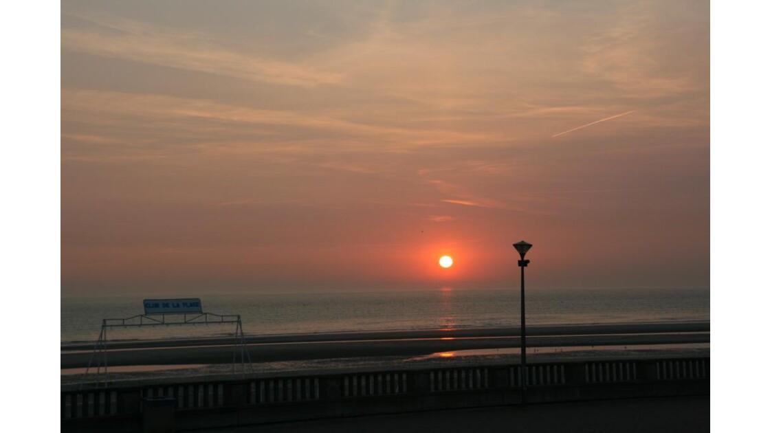 Coucher de soleil opalois