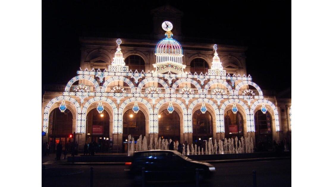 Gare Lille Flandre Noël 2006