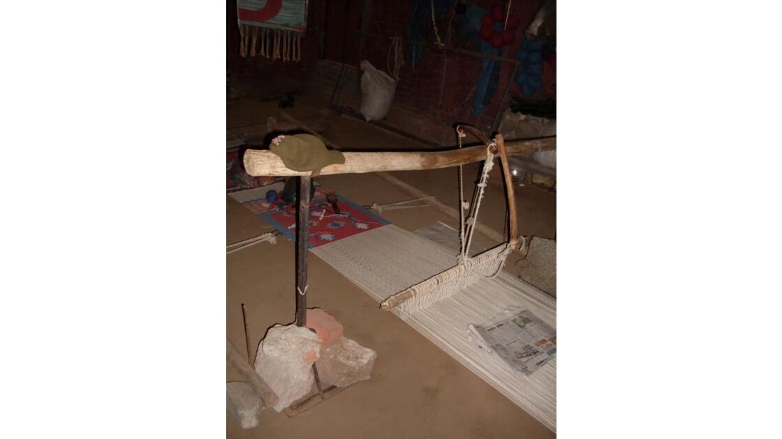 atelier de tissage de tapis