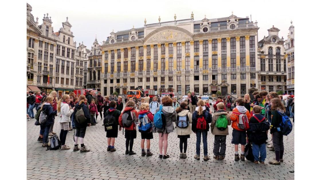 Chorale sur la Grand Place