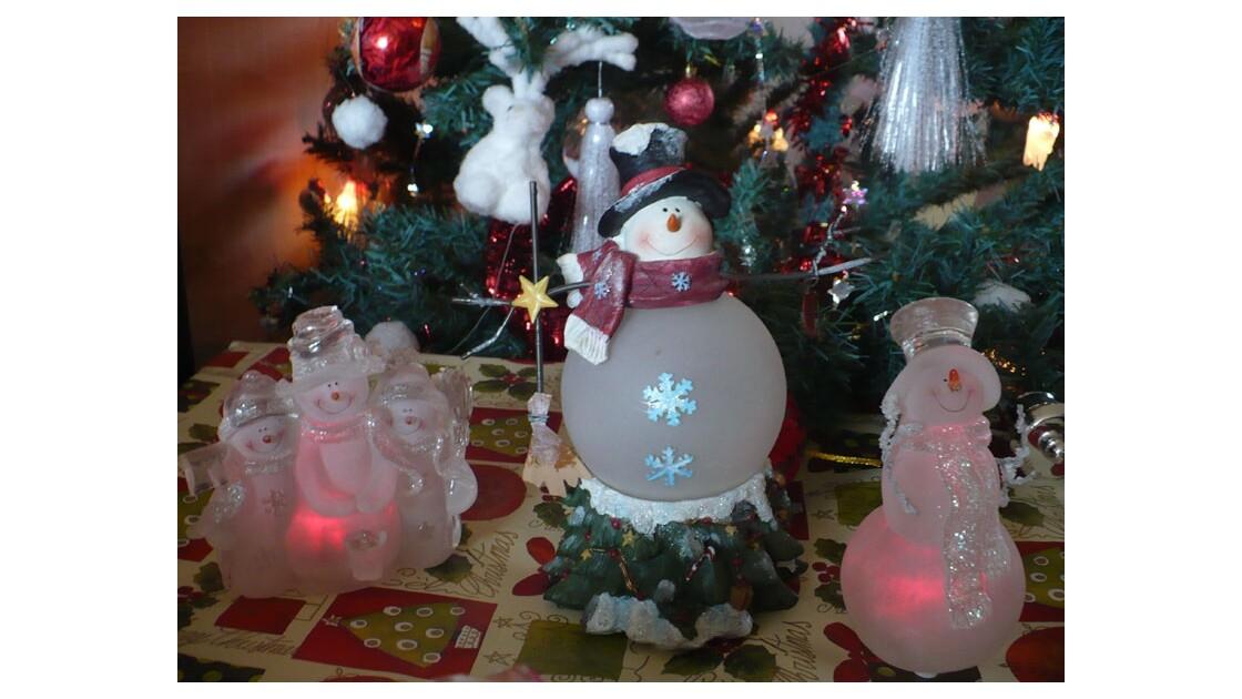 Noël des bonhommes de neige :)