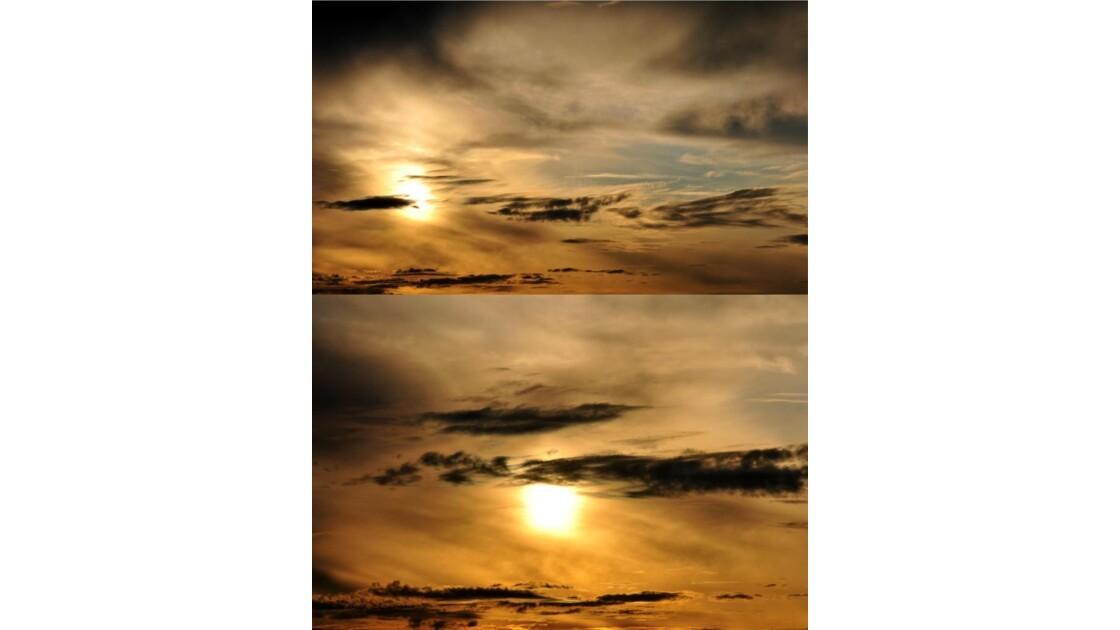 Ciels du 26 septembre.