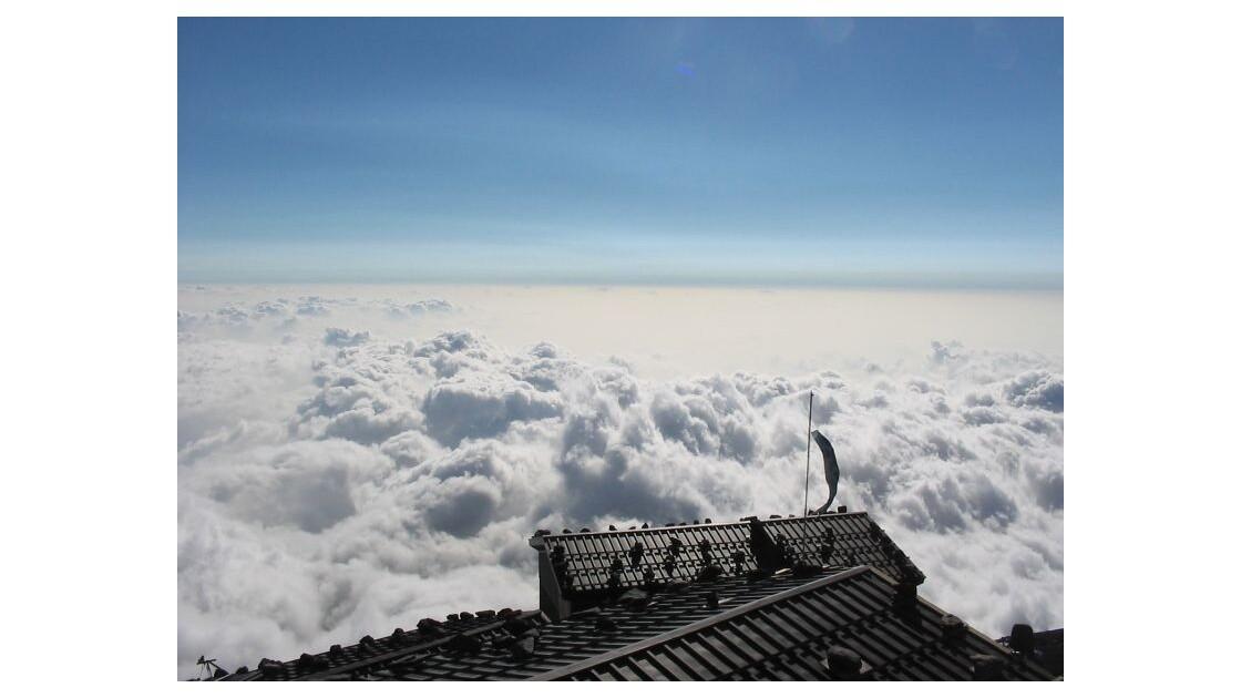 Vue depuis le Mont Fuji