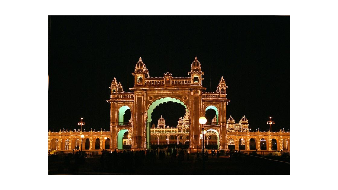 Mysore le Palais illuminé