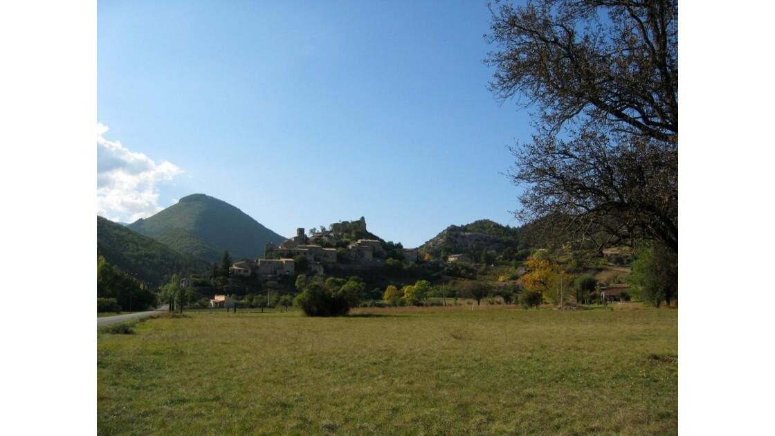 Joli village près du Ventoux