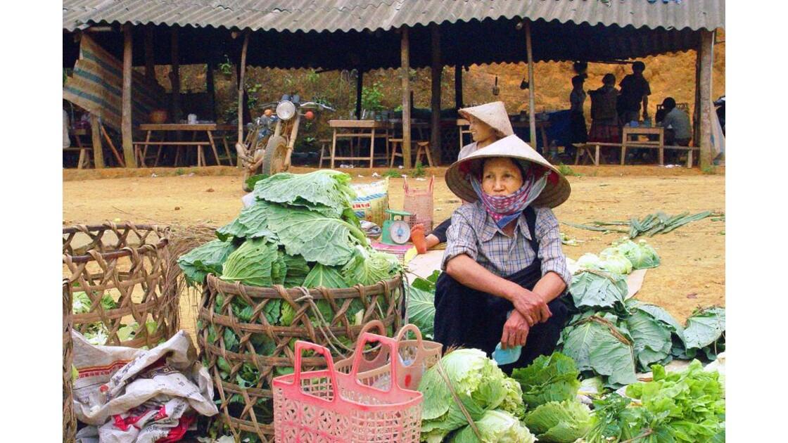 marché local...très local vers Bac Ha(4