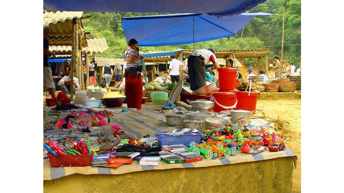 marché local...très local vers Bac Ha(2