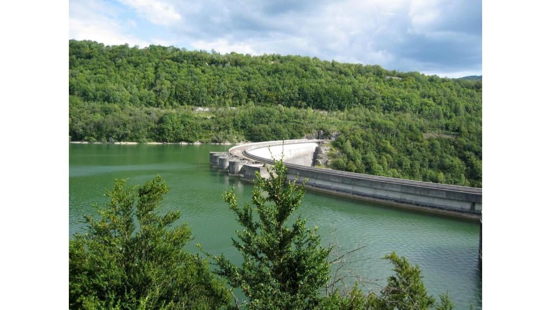 Barrage de Vouglans Jura