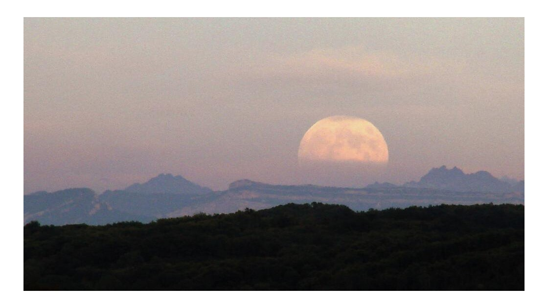 Lever ....de lune