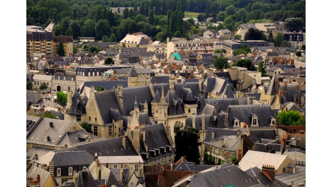 Bourges vue de la Tour