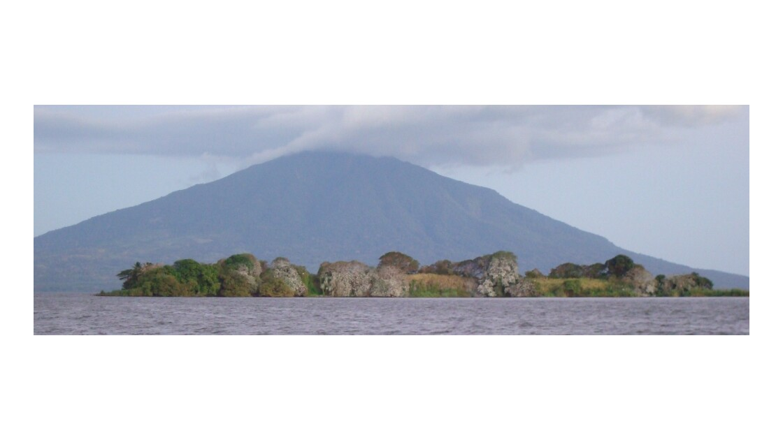Volcan Maderas et le lac Nicaragua