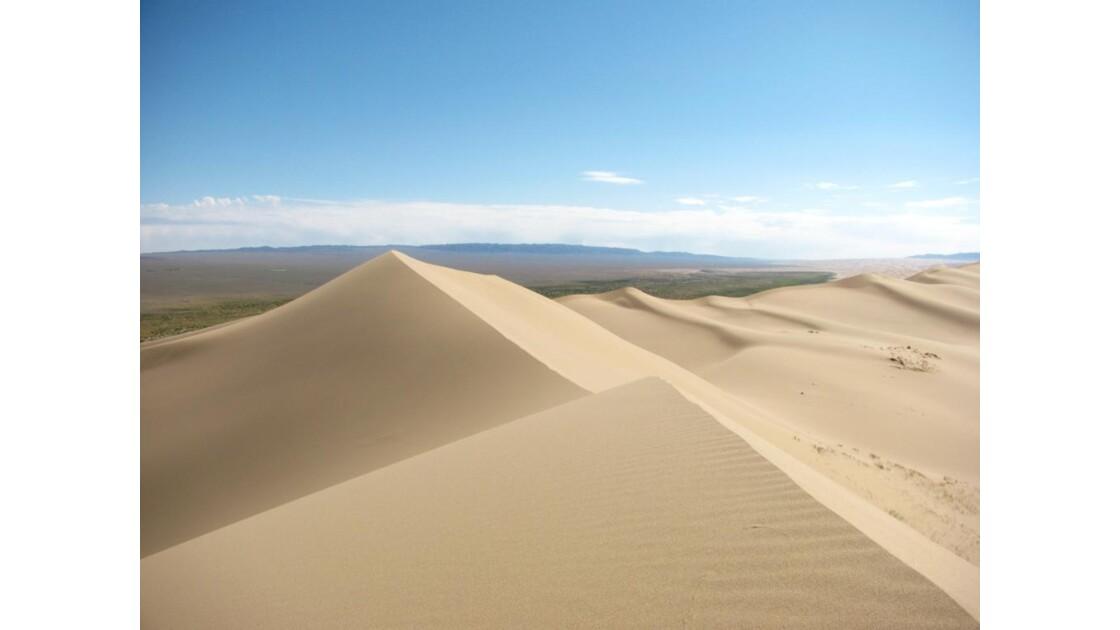 Dunes de sable du desert de Gobi